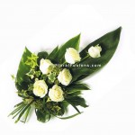 White Roses Sheaf