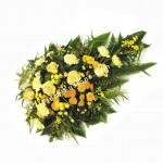 Yellow Roses, Chrysanthemums & Carnations Spray