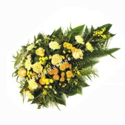 Yellow Roses, Chrysanthemums & Carnations Spray