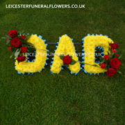 Funeral Name Letters Tributes